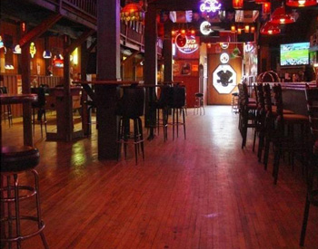 South Street Saloon, Mankato, MN, Installed by Bull Custom Hardwood